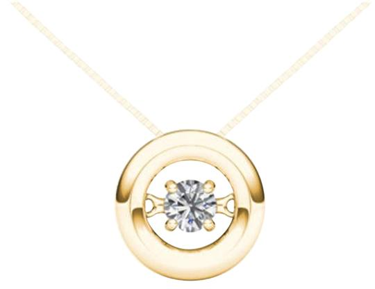 Preload https://img-static.tradesy.com/item/19414245/10kt-yellow-gold-010-ct-diamond-in-motion-pendant-necklace-0-1-540-540.jpg