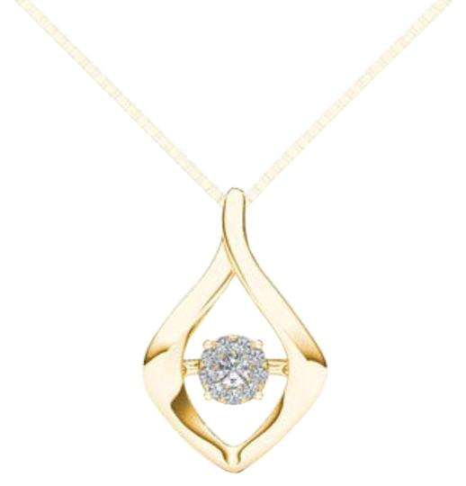 Preload https://img-static.tradesy.com/item/19414315/10kt-yellow-gold-diamond-in-motion-pendant-necklace-0-1-540-540.jpg