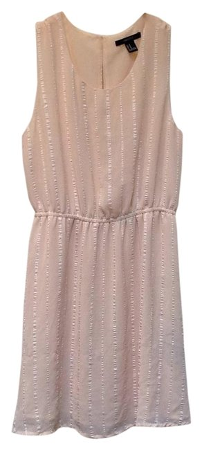 Preload https://img-static.tradesy.com/item/19414334/forever-21-cream-above-knee-night-out-dress-size-8-m-0-1-650-650.jpg