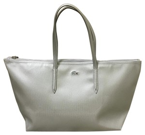 Lacoste Silver Cloud Beach Bag