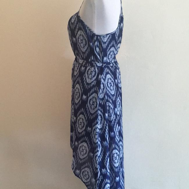 Forever 21 short dress Blue print on Tradesy