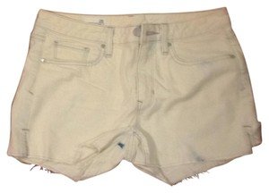 Gap Cut Off Shorts Whitewash denim