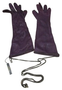 Chanel Opera length lambskin gloves with Chains