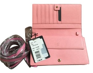 MCM Pink Clutch