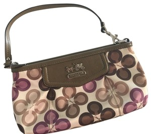 Coach Wristlet in Muti Color
