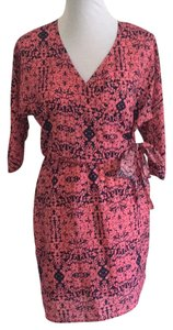 Collective Concepts short dress Pink print on Tradesy
