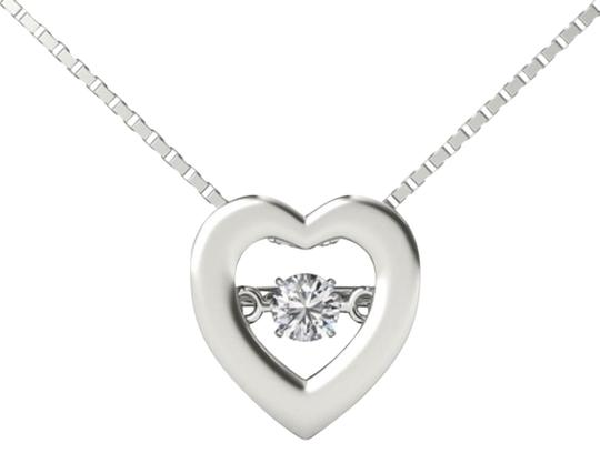 Preload https://img-static.tradesy.com/item/19414622/10kt-white-gold-diamond-heartbeat-in-motion-pendant-necklace-0-1-540-540.jpg