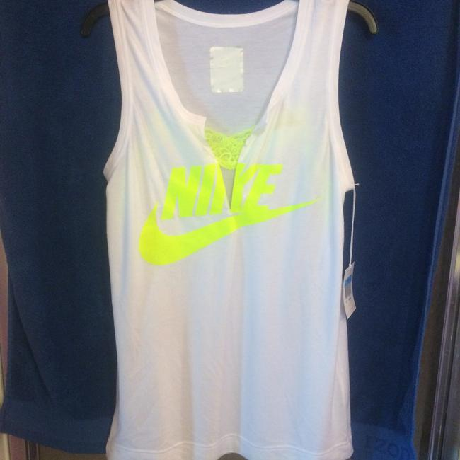 Nike Lab x Sacai Built in mesh and lace inset at split V-neck tank