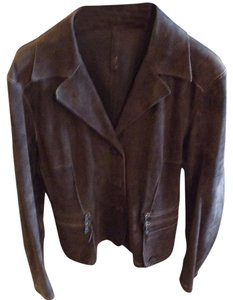 Cristiano di Thiend Brown Leather Jacket
