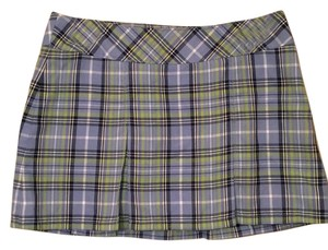 Abercrombie & Fitch Pleated Mini Vintage Mini Skirt