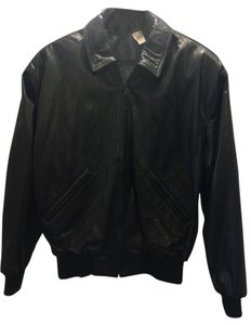 Coach Leather Bomber Leather Jacket