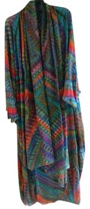 Carter Smith One-of-a-kind Silk Tie Dye Top multicolor