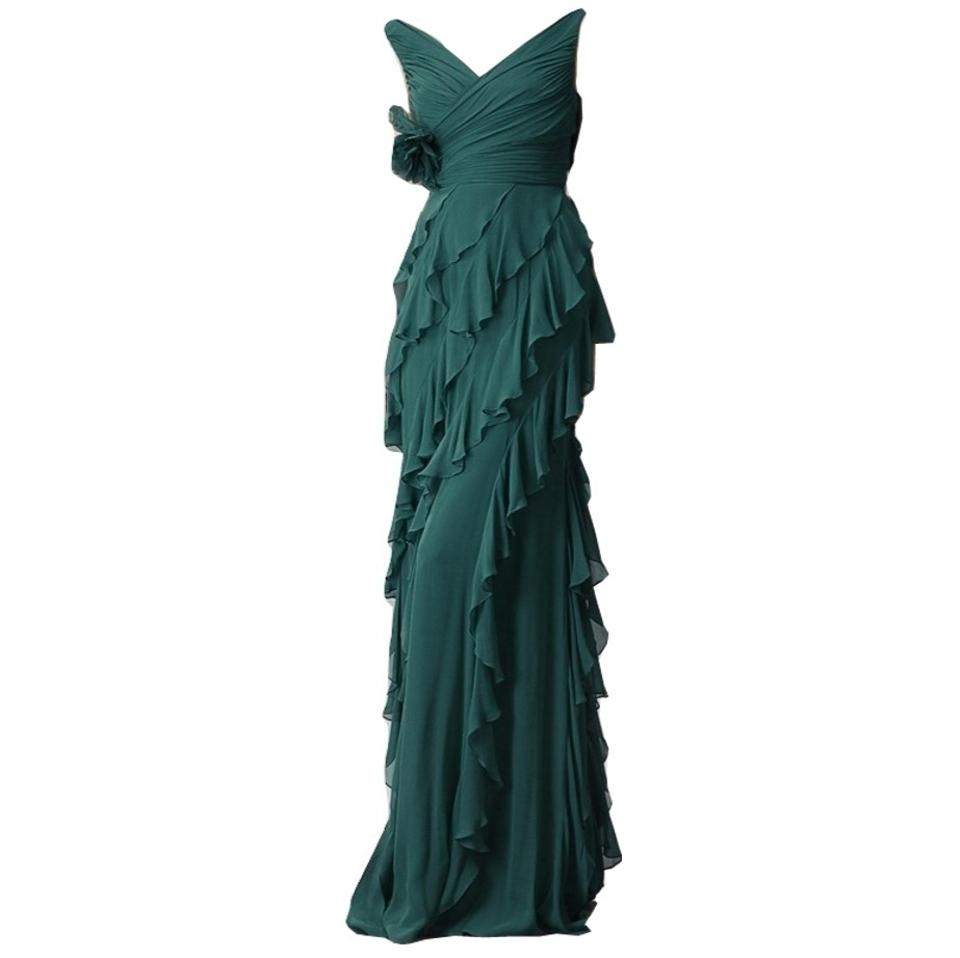 e7b7ab9db09a Badgley Mischka New with Tags Evening Wedding Cocktail Gown Formal Dress