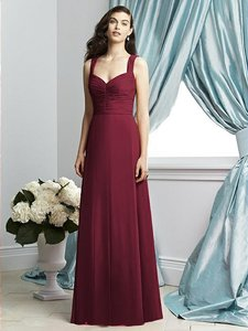 Dessy Burgundy 2929 Dress