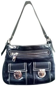 Marc Jacobs Leather Stella Tote in Black