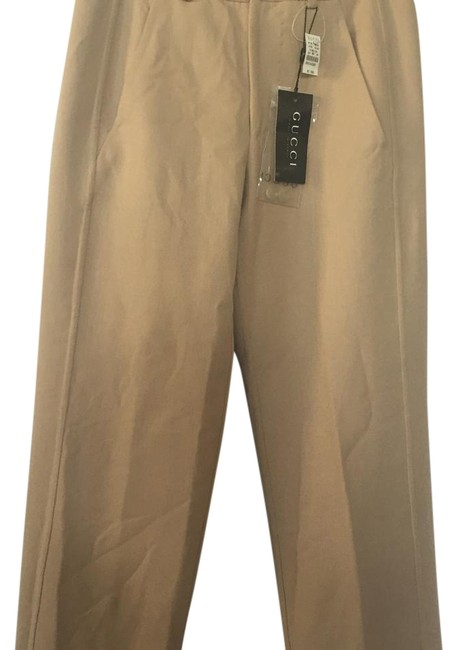 Gucci Straight Pants Camel