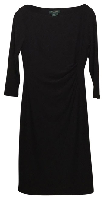 Preload https://img-static.tradesy.com/item/19415615/ralph-lauren-black-mid-length-night-out-dress-size-6-s-0-3-650-650.jpg