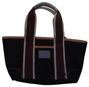 Coach Tote in Black With Brown