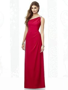 After Six Valentine Lux Chiffon 6688 Bridesmaid/Mob Dress Size 14 (L)