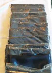 Navy Blue Satin Table Runners - 10 Ct.