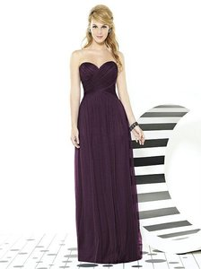 After Six Aubergine 6723 Dress
