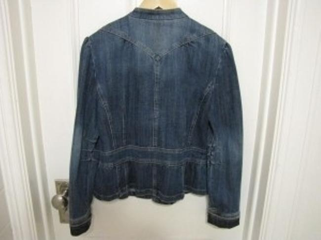 INC International Concepts Denim Womens Jean Jacket