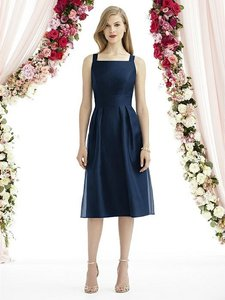 After Six Midnight Mousseline 6745 Bridesmaid/Mob Dress Size 8 (M)