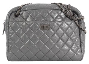 Chanel Reissue Camera Quilted Ch.k0815.08 Silver Shoulder Bag