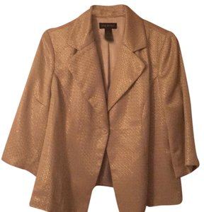 Lane Bryant Gold Blazer