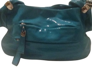 B. Makowsky Satchel in Teal Blue