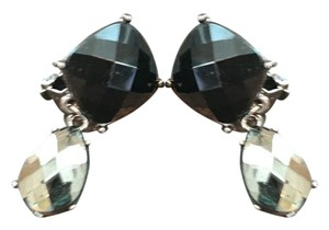 Other Black Jeweled Drop Earrings