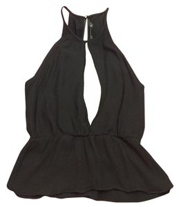 Zara Top Black / white
