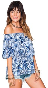 Show Me Your Mumu Off The Vacation Print Top