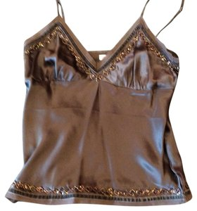 Gold Hawk Top Brown