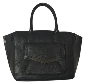 Time's Arrow Tote in Black