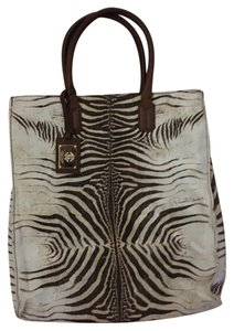 Roberto Cavalli Limited Edition Tote in Brown