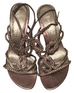 Two Lips Pewter Sandals