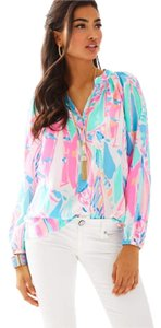 Lilly Pulitzer Top Out To Sea