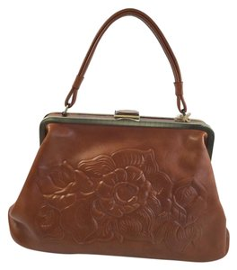 Patricia Nash Designs Satchel in Tan