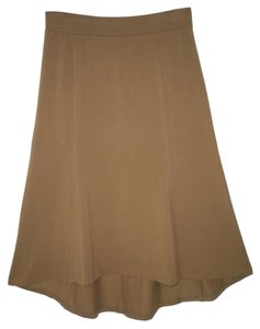 J. Jill Asymmetric Knit Pima Cotton Skirt