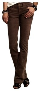 J.Crew Favorite Fit Cords Corduroy Fall Winter Straight Pants BROWN