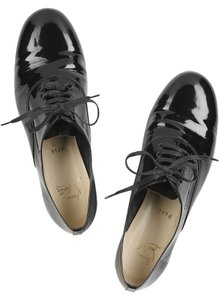 Christian Louboutin Patent Leather Black Flats
