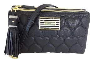 Betsey Johnson Double Entry Cross Body Bag