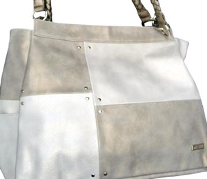 MICHE Magnetic Interchangeable Satchel in silver