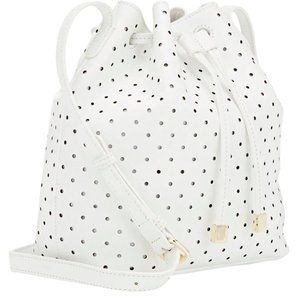 Barneys New York Leather Bucket Shoulder Bag