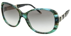 BVLGARI BVLGARI Serpenti Tortuous Green / Grey Gradient Sunglasses BV8114