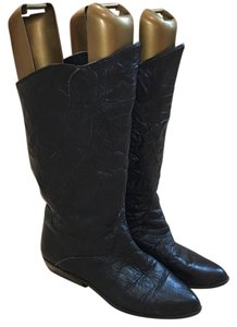 Bootinos Vintage 1980s Black Boots