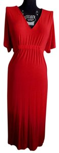 Red Maxi Dress by La Perla