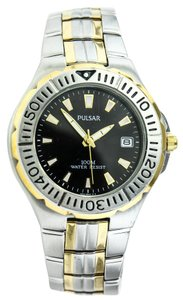 Pulsar Pulsar By Seiko VX 42 Two Tone Diver's Watch