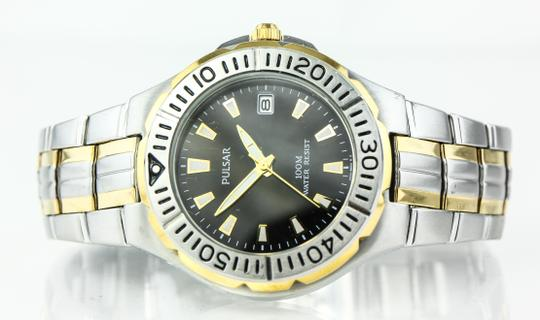 Pulsar * Pulsar By Seiko VX 42 Two Tone Diver's Watch